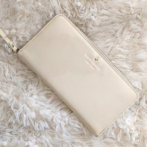 Kate Spade Patent Leather Harrison St Wallet